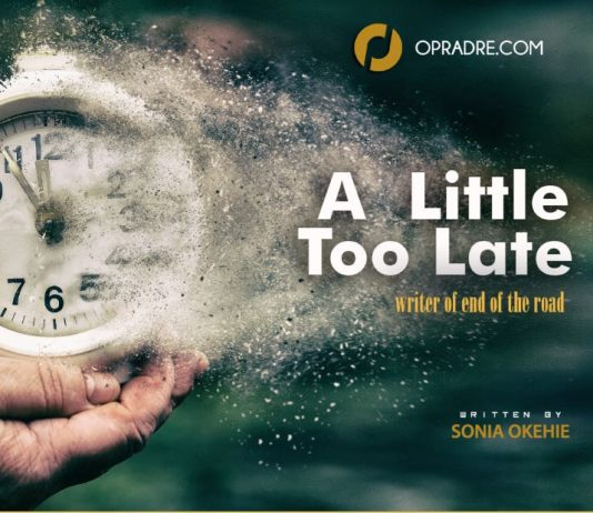 A Little Too Late Episode 1 by Sonia Okehie