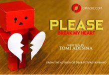 PLEASE BREAK MY HEART Episode 1 by Tomi Adesina