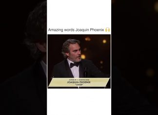 Amazing Words From Joaquin Phoenix (Joker)