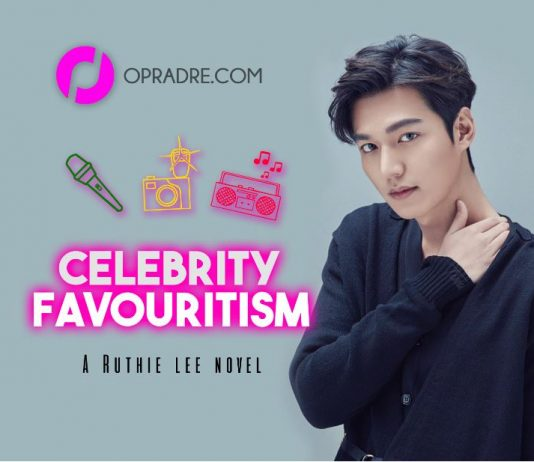 CELEBRITY FAVOURITISM Episode 1 BY RUTHIE LEE
