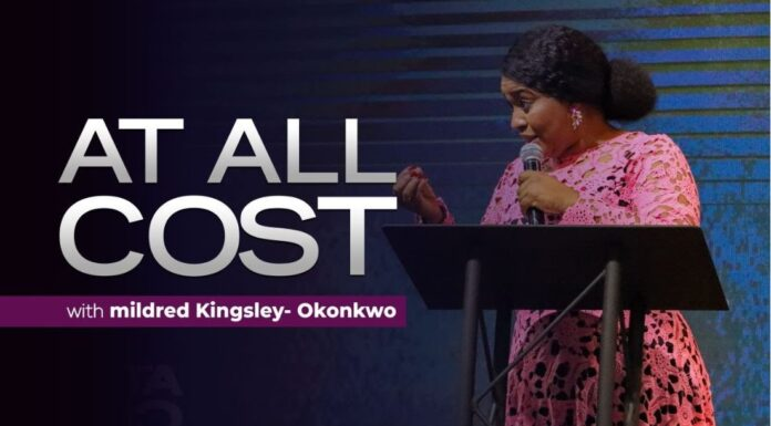 At All Cost - Pastor Mildred Kingsley Mp3 Download