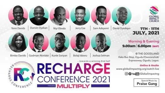 Download Messages from RECHARGE CONFERENCE 2021 MP3 (Every Session)