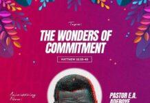 Wonders Of Commitment Mp3 - Pastor E. A Adeboye